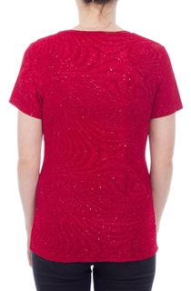 Anna Rose Sparkle Top - Red
