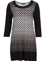 Dotty Jersey Tunic