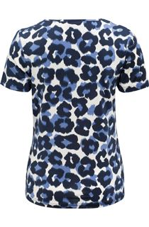 Anna Rose Animal Print Top