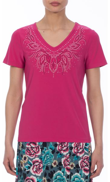 Anna Rose Embellished Top