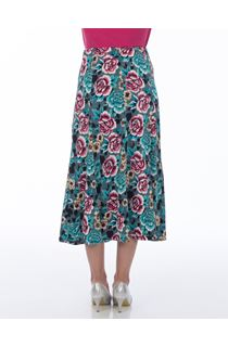 Anna Rose All Over Floral Skirt
