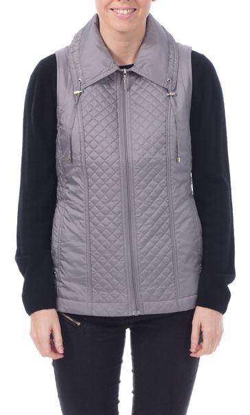 Anna Rose Diamond Stitch Gilet