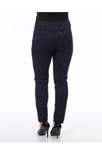 Jacquard Trousers - Blue
