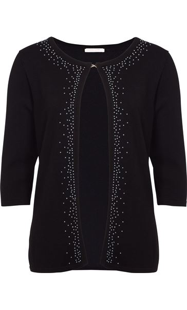 Anna Rose Faux Pearl Cardigan