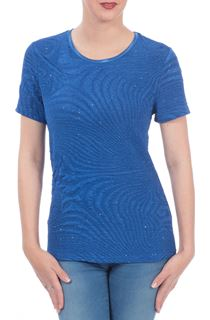 Anna Rose Textured Top - Blue