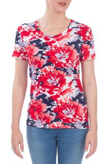 Anna Rose Floral Splash Top