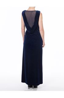 Sparkle Velour Maxi Dress