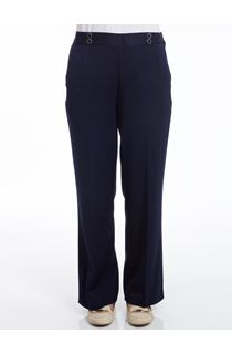 Anna Rose 29 Inch Trousers - Navy