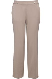 Anna Rose 27 Inch Trousers - Beige