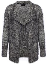 Sequin Eyelash Cardigan