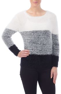 Shaded Eyelash Knit Top