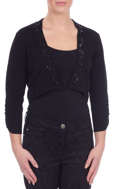 Embellished Knit Cover Up