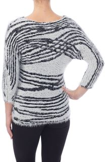 Batwing Eyelash Knit Top