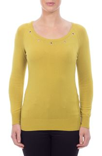 Eyelet Knit Top - Lime