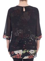 Double Layer Cut Out Tunic
