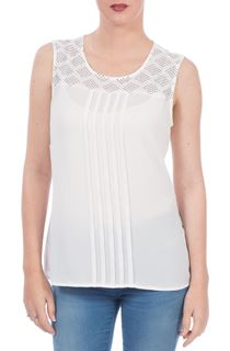 Embellished Top - Ivory