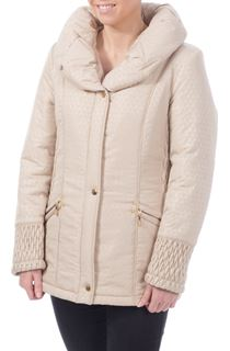 Anna Rose Triangle Shimmer Coat - Almond