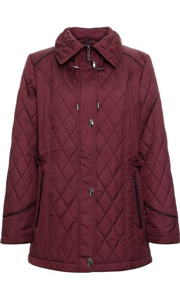 Anna Rose Diamond Quilt Coat