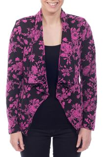 Jacquard Open Jacket