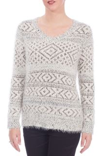 Eyelash Diamond Knit Top