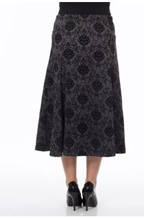 Anna Rose Baroque Print Skirt