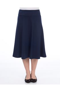 Anna Rose Panelled Ponte Skirt