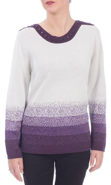 Anna Rose Sparkle Knit Top
