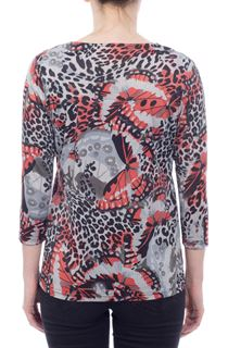 Anna Rose Butterfly Print Top