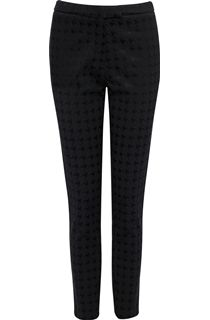 Dogtooth Jacquard Trousers