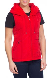 Anna Rose Gilet - Red