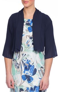 Anna Rose Pleated Cover Up - Blue