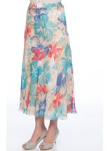 Anna Rose Bias Cut Bouquet Skirt