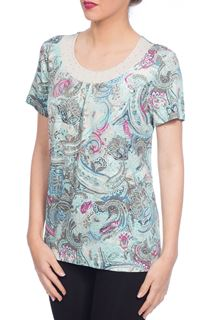 Anna Rose Paisley Print Top