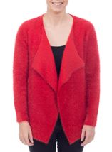 Feather Knit Cardigan