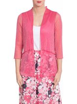 Anna Rose Layered Sparkle Cover Up