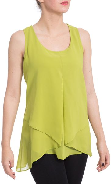 Double Layer Drape Top
