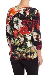 In Bloom Jersey Wrap Top