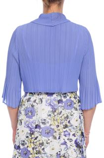 Pleat Cover Up - Purple
