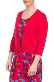 Knit Cover Up - Red