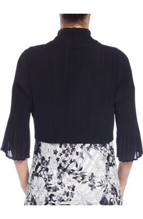 Pleat Cover Up - Black