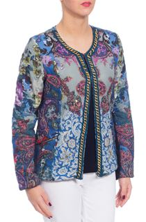 Embellished Botanical Jacket