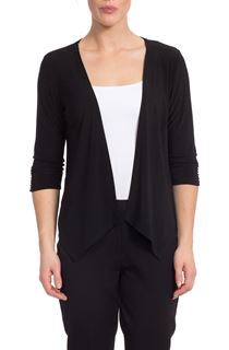 Waterfall Jersey Cover Up - Black