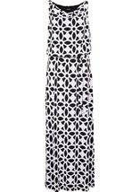 Monochrome Maxi Dress