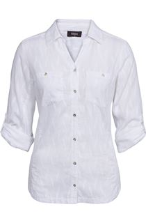 Cotton Blouse - White