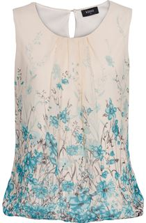 Botanical Chiffon Top