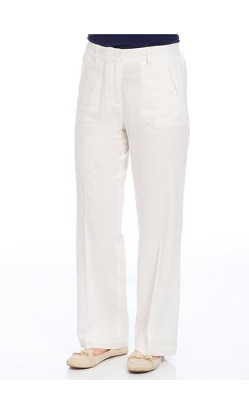 Anna Rose Linen Blend Trousers
