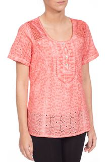 Anna Rose Broidery Anglaise Top