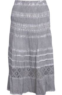 Anna Rose Washed Cotton Skirt