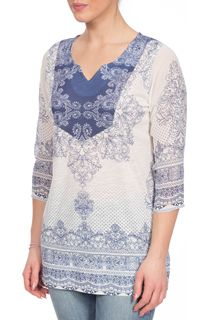 Placement Baroque Print Top