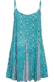 Circle Printed Strappy Tunic